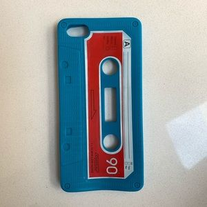 iPhone 5 silicone cassette case